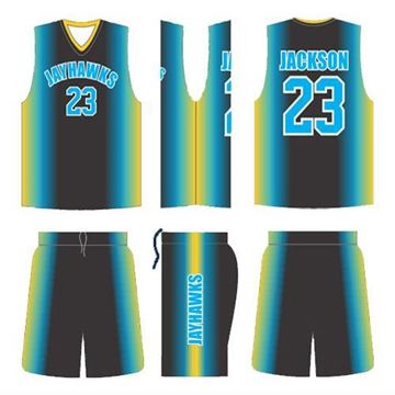Picture of Basketball Kit JAY 552 Custom