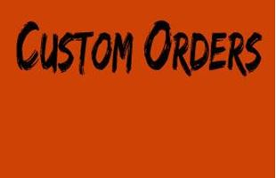 Picture for category Custom Orders