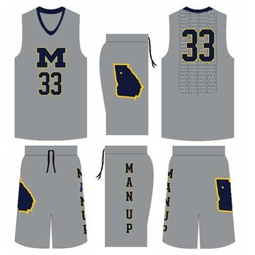 Picture of Basketball Kit MNU 522 Custom