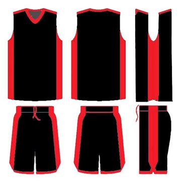 Picture of Basketball Kit Style 514 Blank