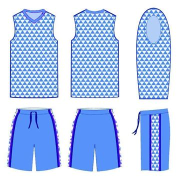 Picture of Basketball Kit Style 554 Custom