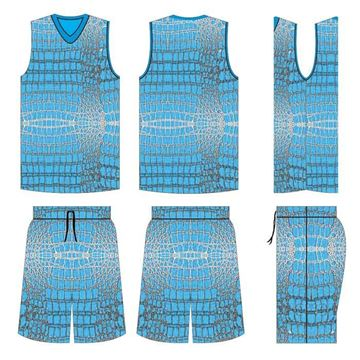 Picture of Basketball Kit Style 515 Custom