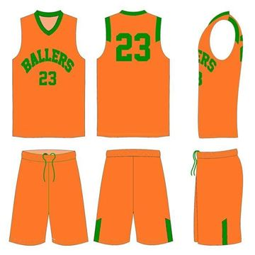 Picture of Basketball Kit Style 507 Custom