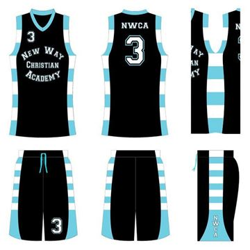 Picture of Basketball Kit NWC 517a Custom