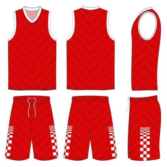 Picture of Basketball Kit Style 509 Custom