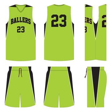 Picture of Basketball Kit Style 523E Custom