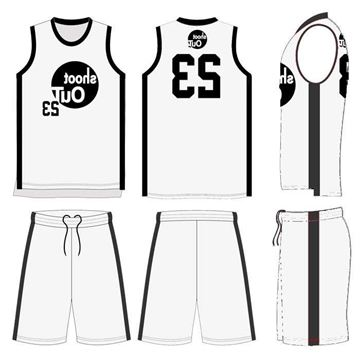 Picture of Basketball Kit JOE 566 Custom