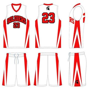 Picture of Basketball Kit Style 506 Custom