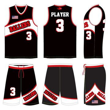 Picture of Basketball Kit Style 592 Custom