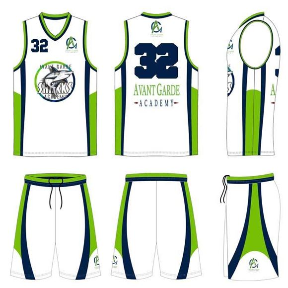 661b1d7884c Ballers Beast - Basketball Kit Style 595 Custom