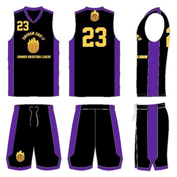 Picture of Basketball Kit Style SBL 514 Special