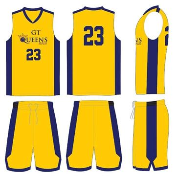 Picture of Basketball Kit Style GTQ 514 Special