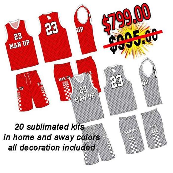 Picture of Basketball Kit Style 509 Special