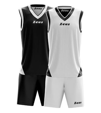 Picture of Zeus Basketball kit Doblo Blank